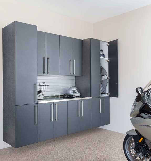 Attirant Thermally Fused Laminate Cabinets